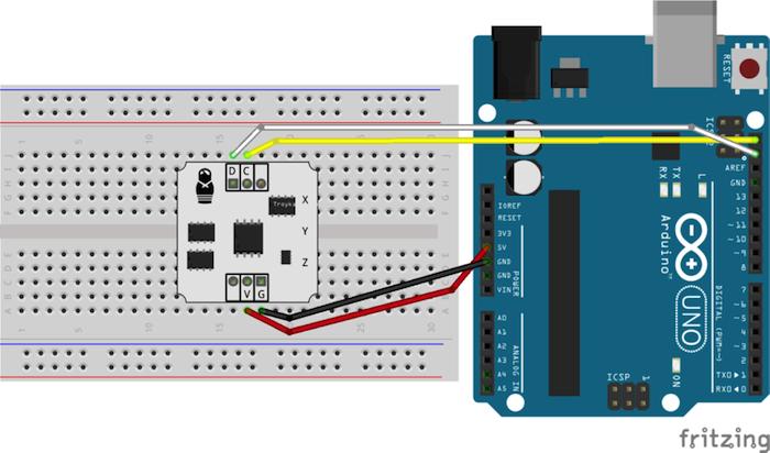 arduino bluetooth gloves sensor connection