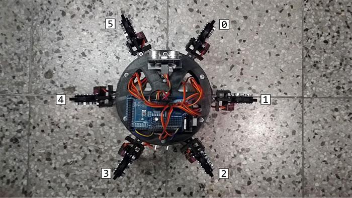 arduino hexapod