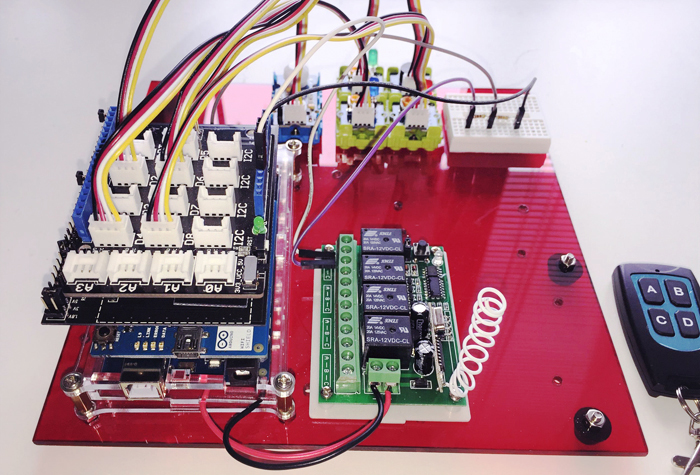 TECH INFO 采用ROHM传感器套件的DIY Arduino家庭安防系统 第1部分-机制