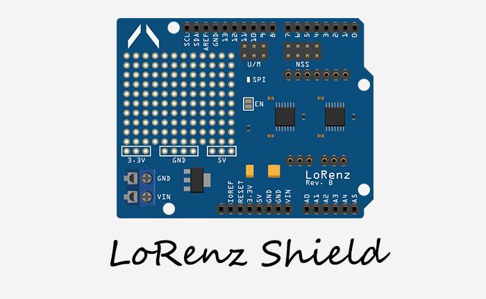 TECH INFO Arduino长距离通信教程–LoRenz开发板