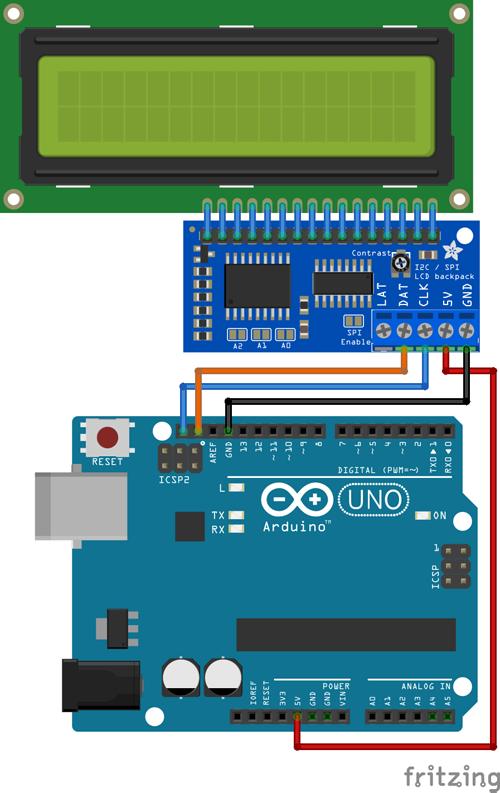 TECH INFO 使用Arduino驱动LCD的DIY指南