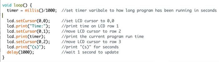 使用Arduino驱动LCD的DIY指南 循环代码