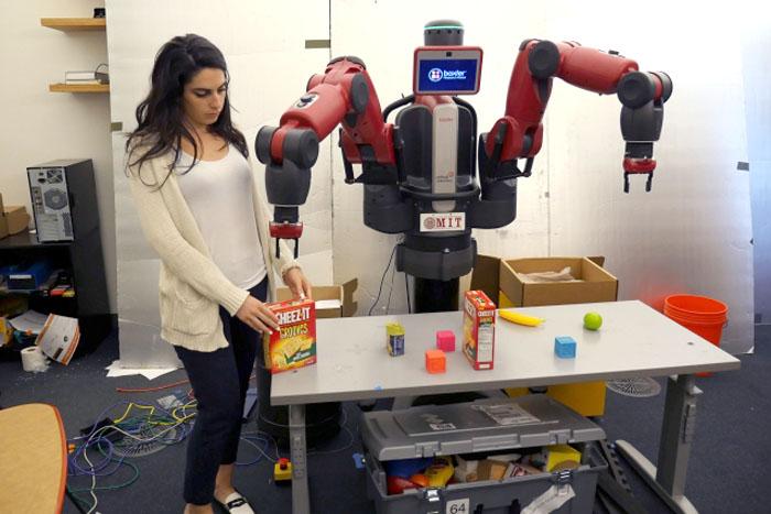 具备情境理解能力的个人助理机器人研究进展 Baxter robot