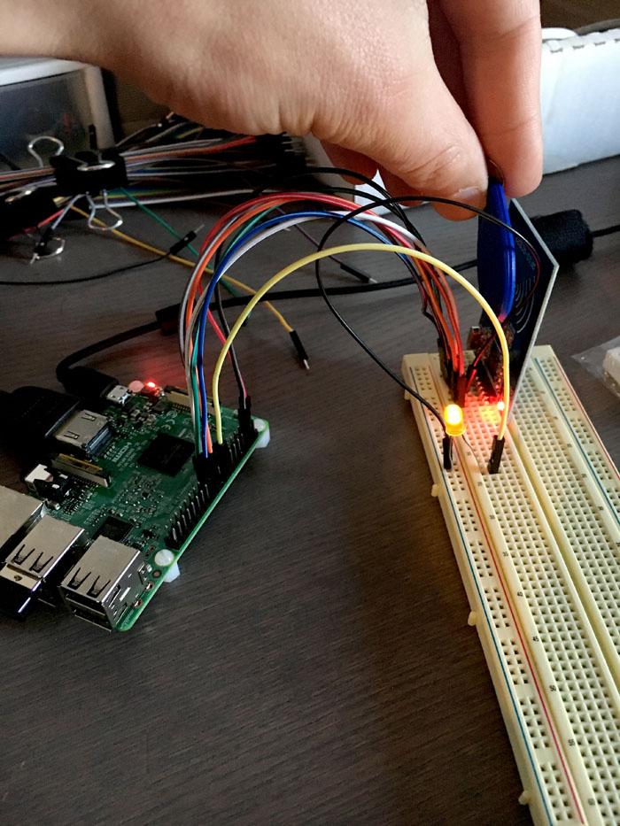 如何将RFID模块与Raspberry Pi集成在一起 图5