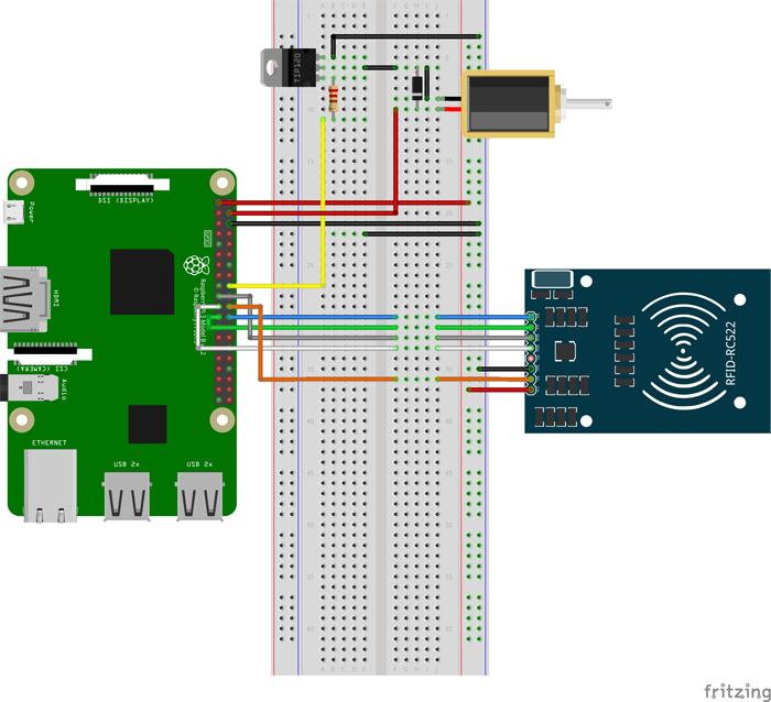 如何将RFID模块与Raspberry Pi集成在一起 图2
